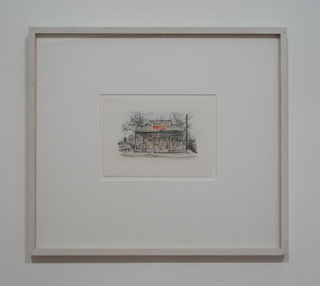, 'Coleman's Cafe,' 1988, Galerie Julian Sander