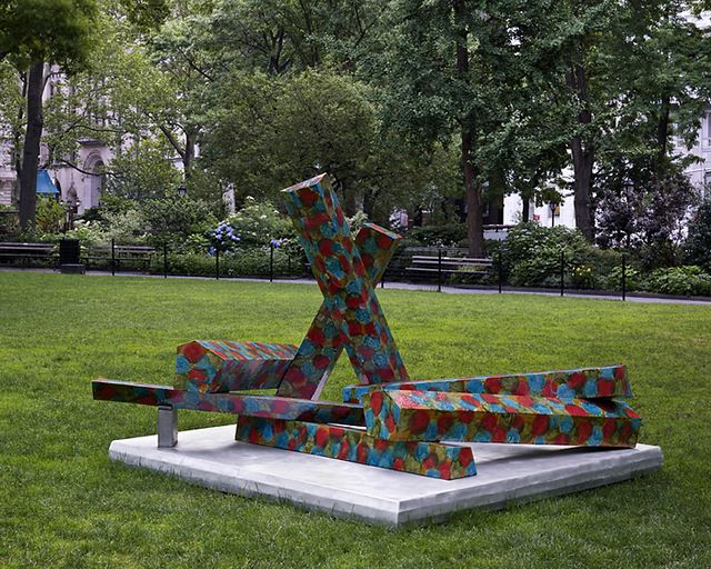 , 'Free Assembly,' 2008, Madison Square Park