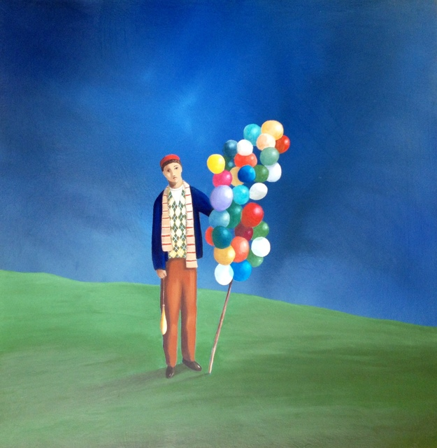 , 'The Purple Balloon,' 2016, Conde Contemporary