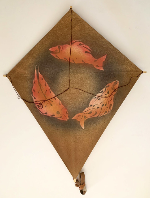 Francisco Toledo, 'Untitled, Three Fish Kite, HOLIDAY SALE TAKE 20% OFF NEXT THREE WEEKS', 2010, David Lawrence Gallery