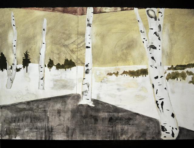 , 'Dead Winter,' 2017, SILAS VON MORISSE gallery