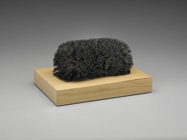 Richard Artschwager, 'Brush', 1968, Sculpture, Wood and brush bristles, Yale University Art Gallery