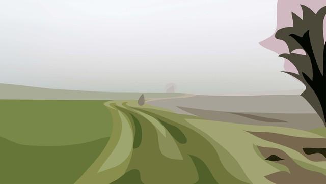 Julian Opie, 'Winter 17.', 2012, Cristea Roberts Gallery