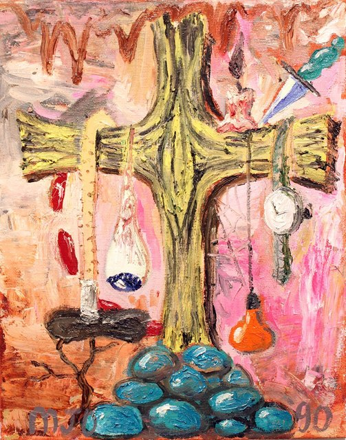 , 'Kitsch Effluvium Sui Generis: The Crucifixion, style 1953,' , Tyler Rollins Fine Art