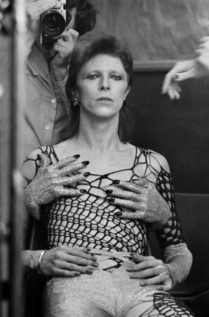 , 'Ziggy Stardust backstage, Terry's reflection,' 1973, Ransom Art