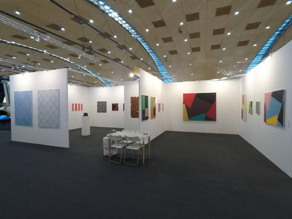 Oniris Gallery's booth - Group show - Art Karlsruhe - February 2018