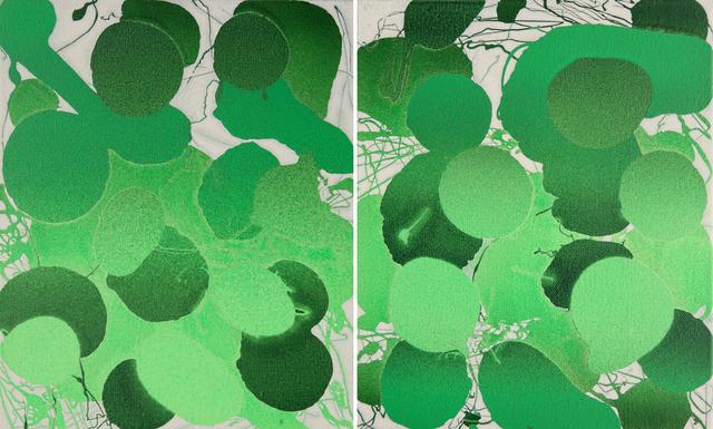 , 'Sketches 2017 – Green 15,' 2017, Galerie du Monde