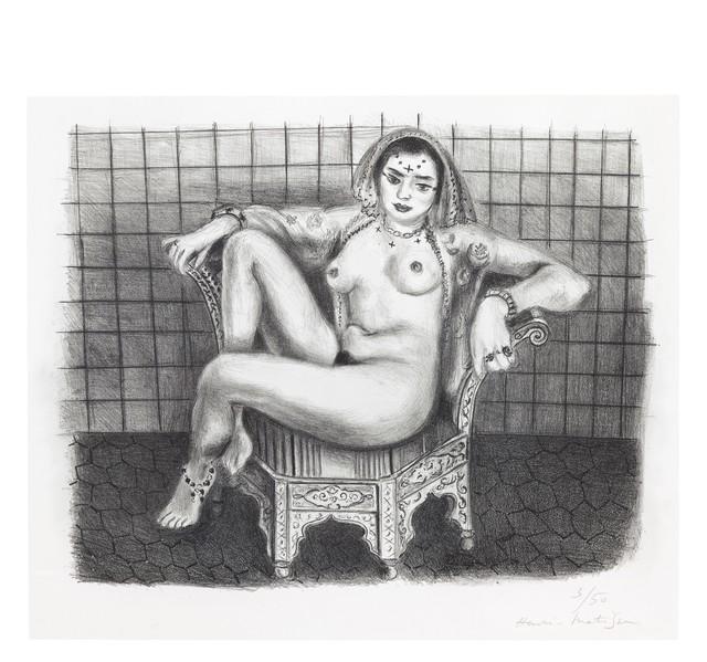 Henri Matisse, 'Jeune Hindoue', 1929, Bernard Jacobson Gallery