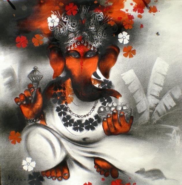 , 'Ganesh,' , Jamaat Art