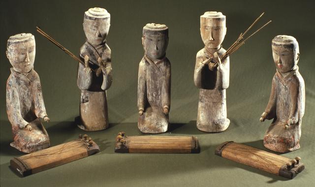, 'Musician figurines,' , Musée national des arts asiatiques - Guimet