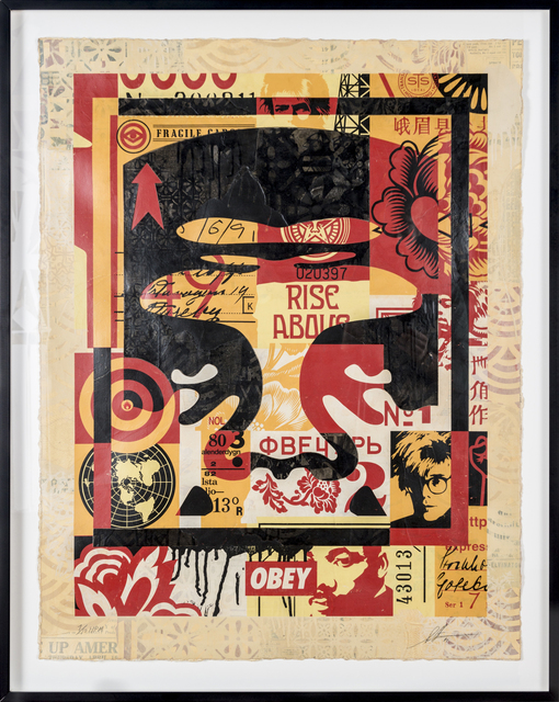 Shepard Fairey (OBEY), 'Icon Collage (Top)', 2016, Print Them All