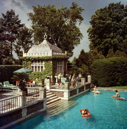 Slim Aarons, 'Family Pool', ca. 1960, Staley-Wise Gallery