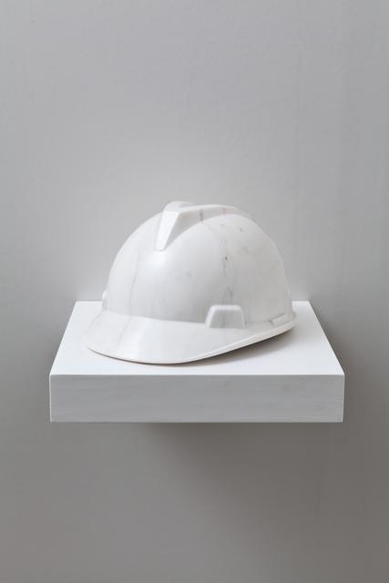 , 'Marble Helmet,' 2010, Galleria Continua