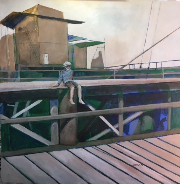 , 'Sittin' on the Dock of the Bay,' , Peninsula Gallery