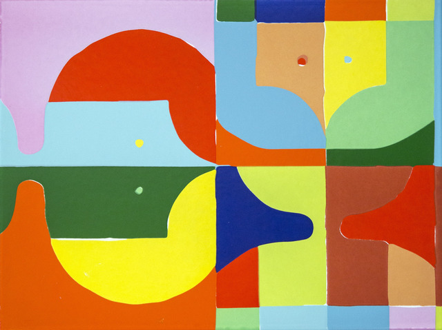 Polly Apfelbaum, 'A Potential', 2018, Print, Enamel on metal, Friends Seminary Benefit Auction