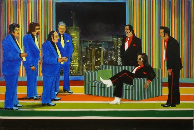 , 'Introducing the Royal Blue Quartet,' 2018, Galerie de Bellefeuille