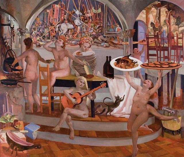 , 'Trimalchio's Kitchen,' , Valley House Gallery & Sculpture Garden