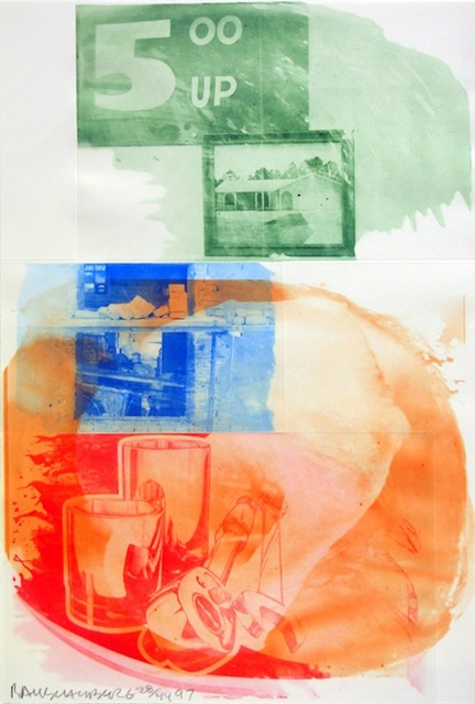 Robert Rauschenberg, 'Collateral, from Ground Rules', 1997, Gregg Shienbaum Fine Art
