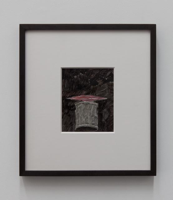 , 'One Mouth, One Trash Can,' 2015, Tatjana Pieters