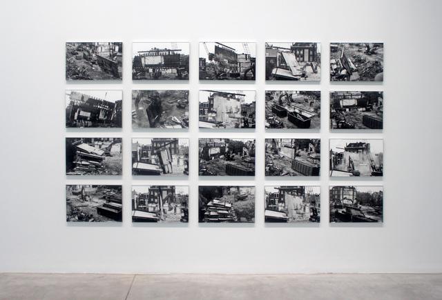 , 'Demolition City,' 1992-2016, Nadja Vilenne