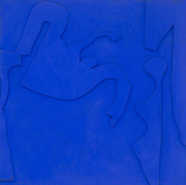 , 'Blue-Chips Blue #1,' 1967, Eric Firestone Gallery