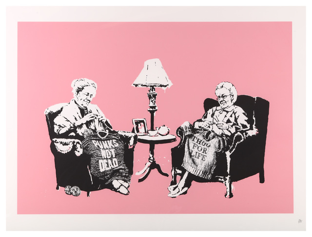 Banksy, 'Grannies', 2006, Chiswick Auctions
