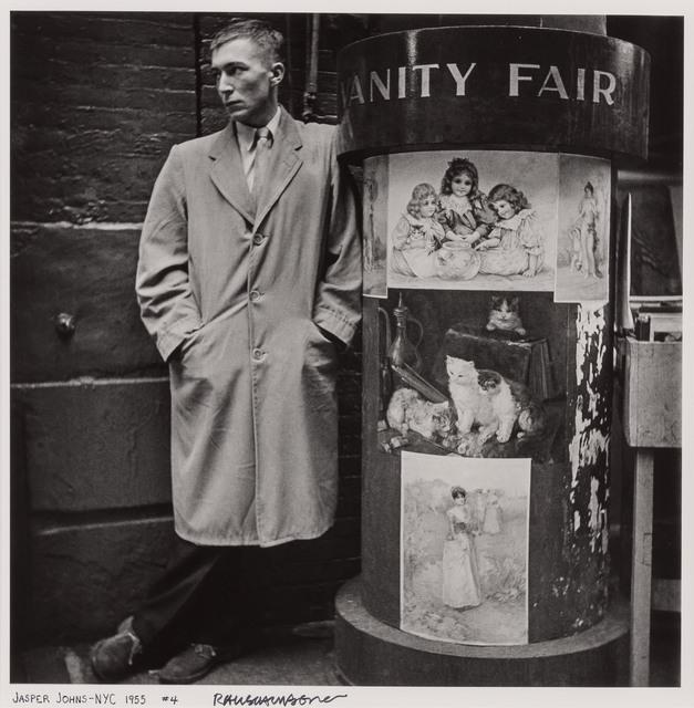 Robert Rauschenberg, 'Jasper Johns--NYC # 4', 1955, Photography, Gelatin silver print, Doyle