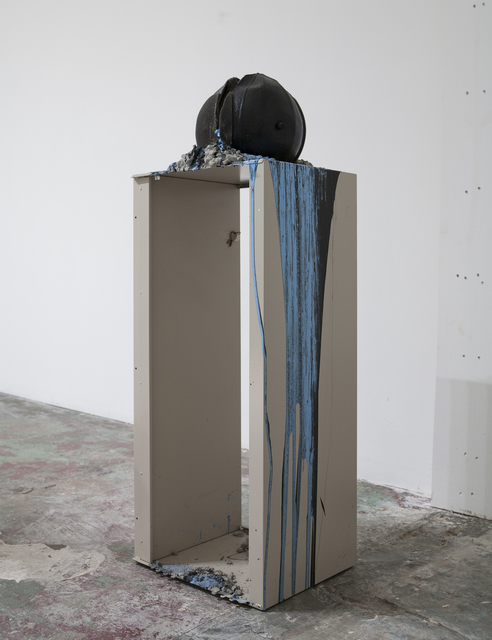 , 'Imploded Ball Barf (sound proof spare keys),' 2011, Nina Johnson
