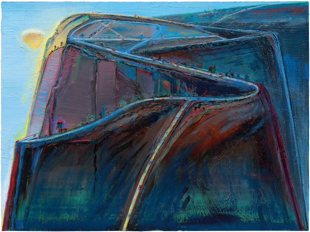 , 'Mountain Roads,' 2010-19, Acquavella Galleries