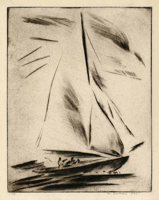 , 'New Rochelle - Before the Wind,' 1931, Keith Sheridan, LLC