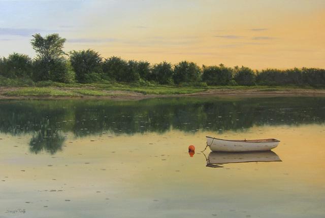 , 'Setting Sun on the Lagoon,' 2016, Quidley & Company