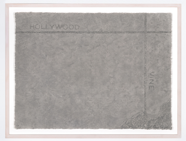 , 'Petroplots Suite: Hollywood / Vine,' 2001, Page Bond Gallery
