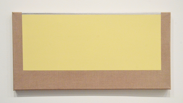 , 'Yellow and Silver,' 2017, Minus Space