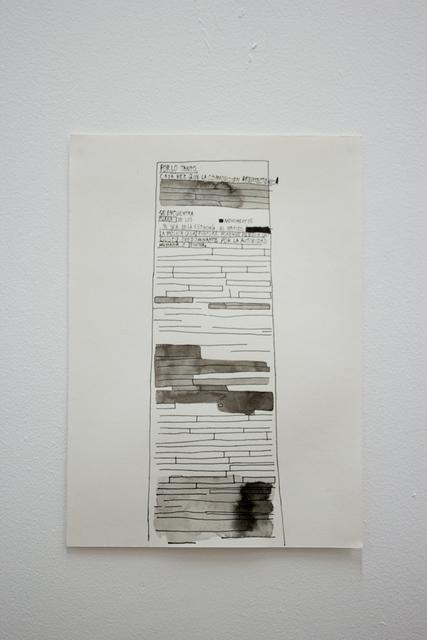 José Miguel del Pozo, 'Informe', 2016, ABRA