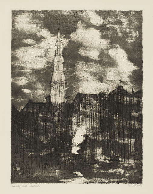 , 'Hamburg, Church of St. Catherine,' 1910, Galerie St. Etienne