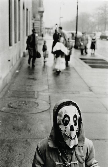 Frank Paulin, 'Mask, New York City', 1956, Bruce Silverstein Gallery