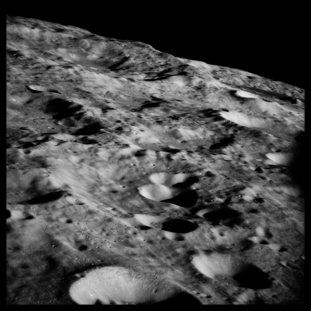 , '031 Farside Highlands, About the Size of Switzerland; Attributed to Michael Collins, Apollo 11, July 16-24, 1969,' 1999, Danziger Gallery