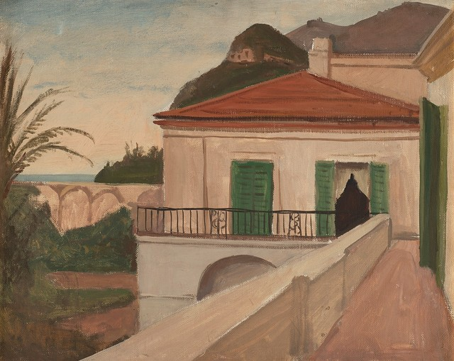 Pompeo Borra, 'Litorale campano', 1934-36, Painting, Oil on canvas, Finarte