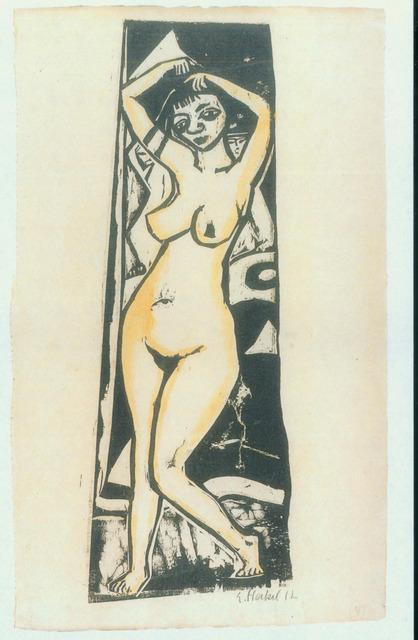 , 'Stehende,' 1912, Henze & Ketterer