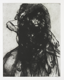 Glenn Brown, 'Layered Portrait (After Lucian Freud) 3,' 2008, Phillips: Evening and Day Editions