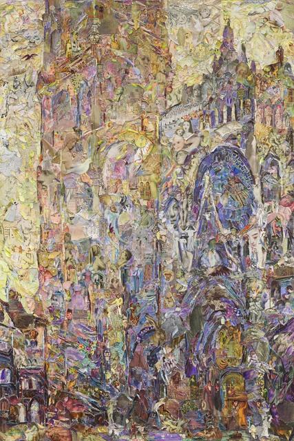 , 'Rouen Cathedral (Les Classiques de L'Art, Flammarion)  p. PL.LII-LIII-Le Cathédrale de Rouen,  Le Portail et La Tour D'Albane (Effet du Matin) Series of Repro,' 2016, galerie nichido / nca | nichido contemporary art