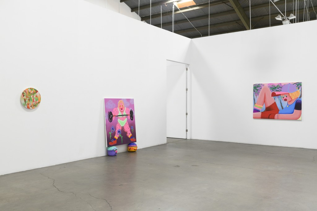 Immersion, Installation View (West Gallery): Morgan Blair, Super Future Kid.