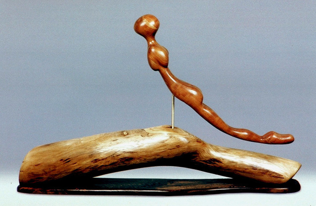 , 'Golden Woman in Flight,' 1990s, Zenith Gallery