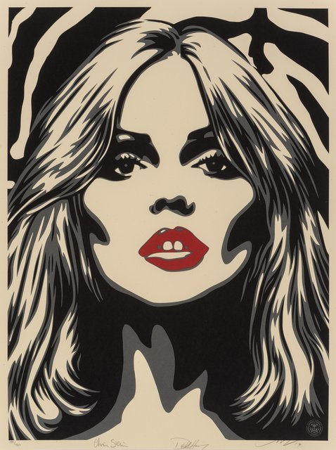 Shepard Fairey, 'Debbie Harry Zebra Skin ? Blondie Hoodie and Bundle!', 2014, Heritage Auctions