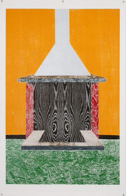 , 'Woodcuts (Chimney),' 2011, Bernier/Eliades