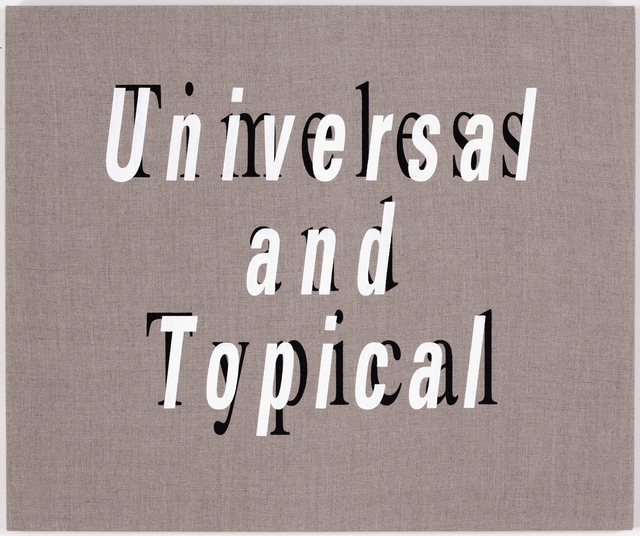 , 'Timeless and Typical/Universal and Topical,' 2011, Resource Art