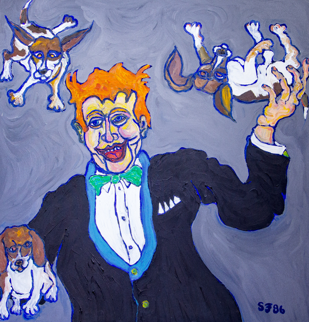 , 'Juggling Beagles,' ca. 1980, Untitled 2.0