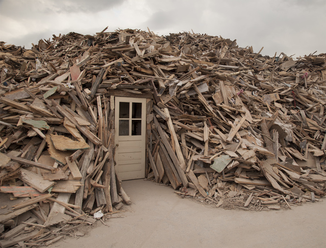 The Dufala Brothers, 'Wood Pile House', 2015, Fleisher/Ollman