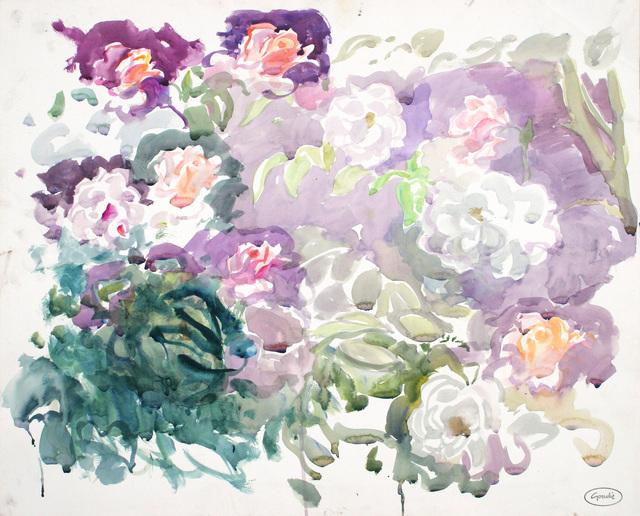 , 'Flower petals,' ca. 1995, Mall Galleries