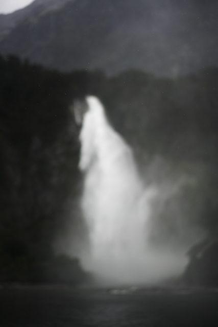 , 'Spray, Belmont Falls, Milford Sound, New Zealand, Autumn 2018,' 2018, Huxley-Parlour